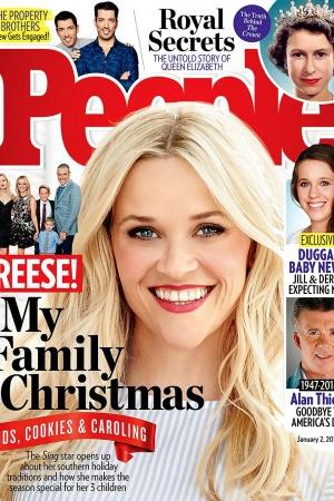 Риз Уизерспун рассказала о рождественских традициях ее семьи