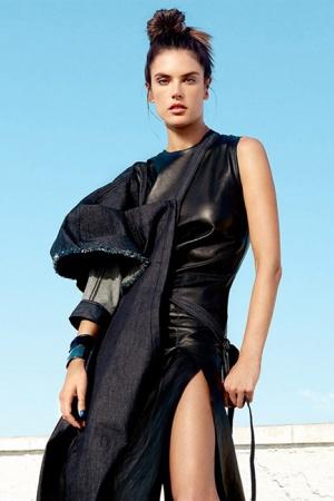 Алессандра Амброзио в фотосете для Harper's Bazaar