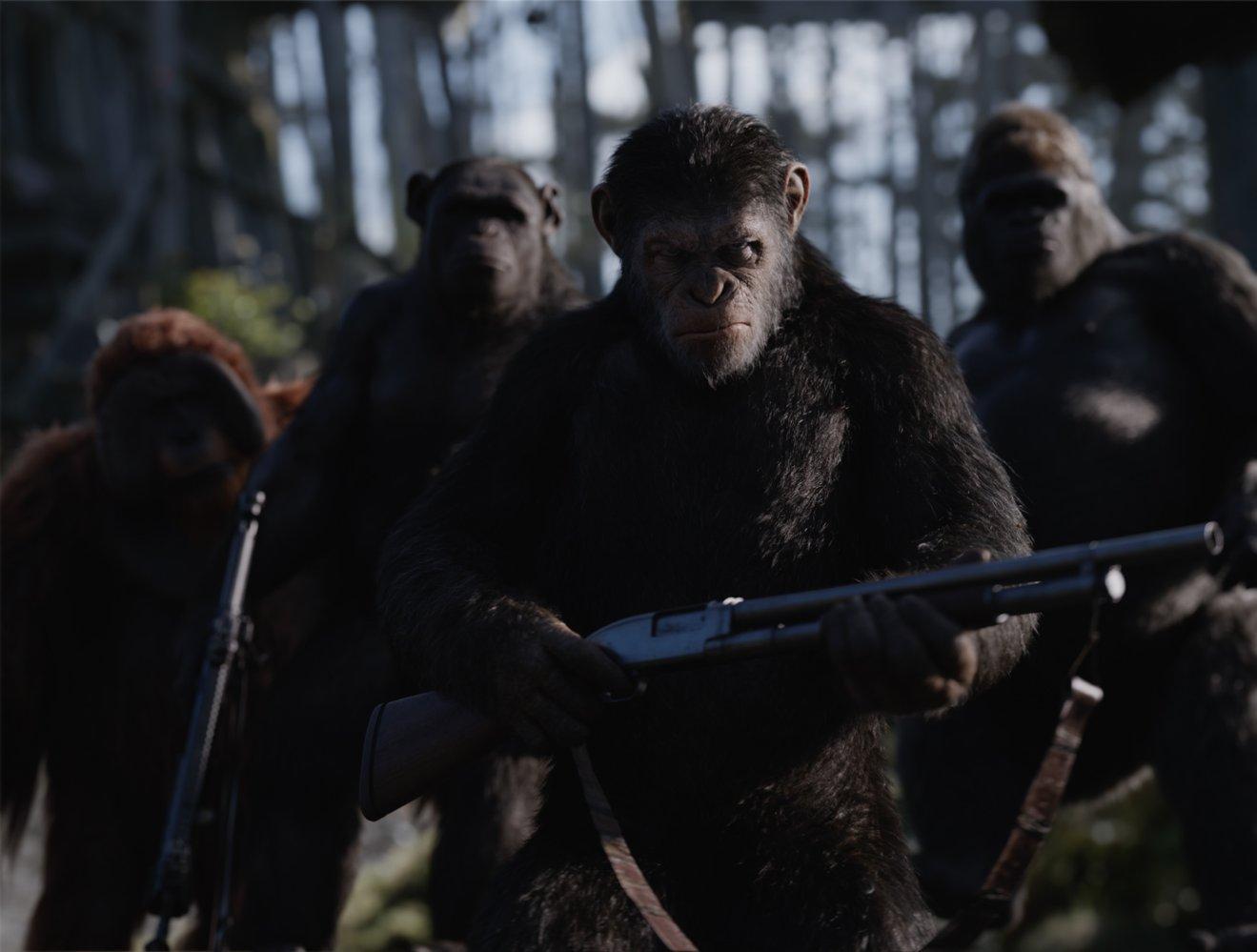 Планета обезьян 2 Революция