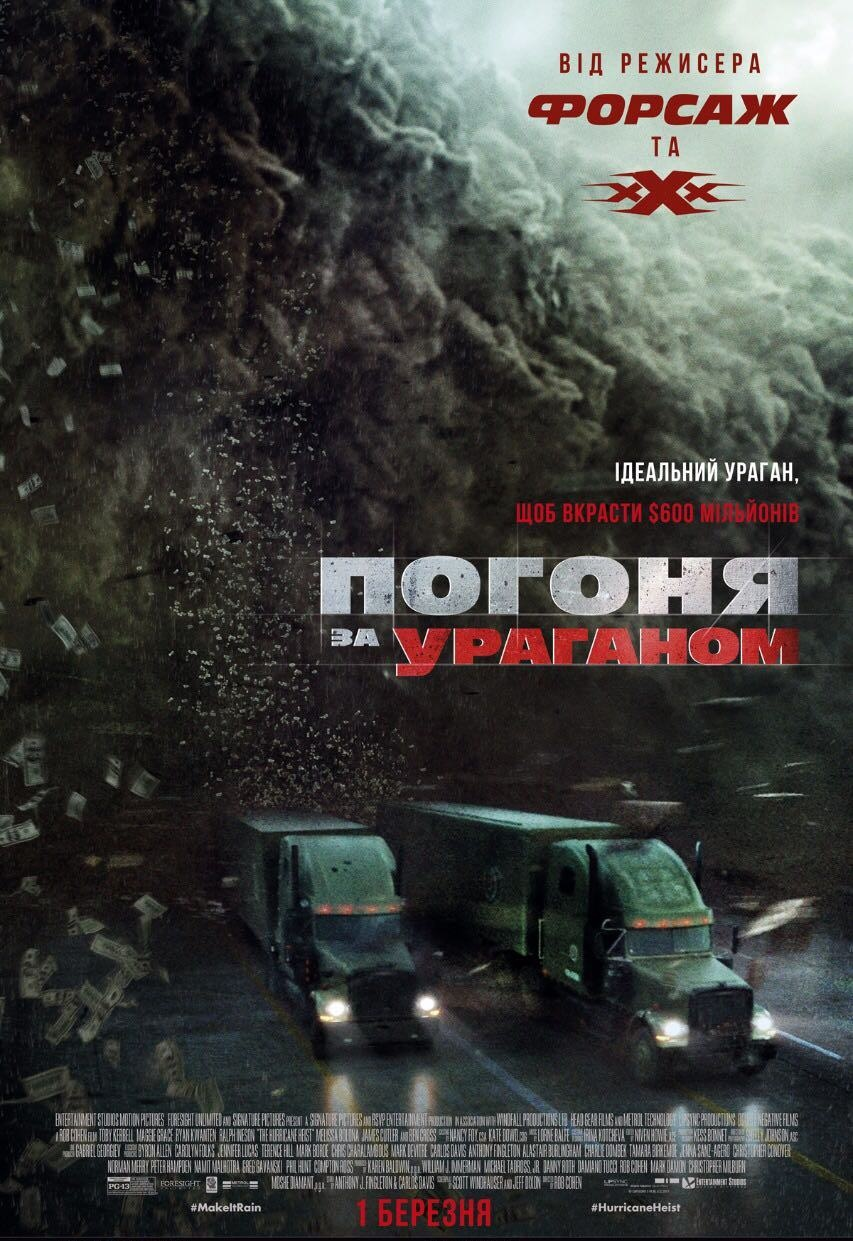 Погоня за ураганом (2018)