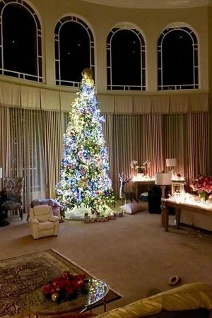 В доме Бритни Спирс уже царит праздничная атмосфера