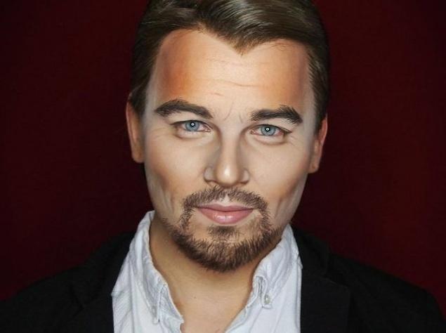 Визажист мастерски перевоплощается в известных голливудских звезд