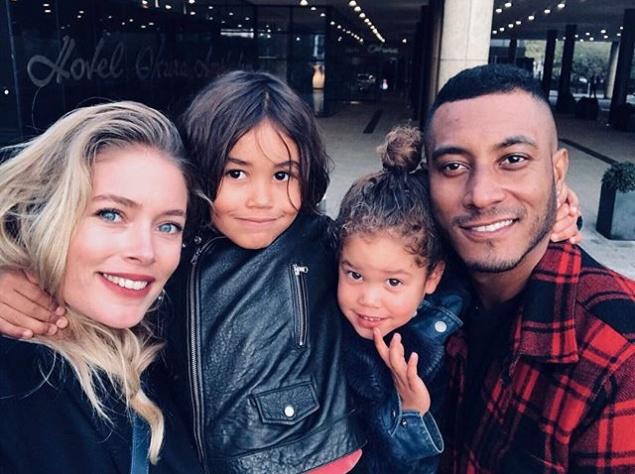 Даутцен Крус опубликовала фото со своей семьей