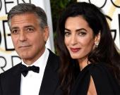 Джордж и Амаль Клуни станут крестными родителями первенца принца Гарри