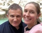 Юрий Горбунов прогулялся по Киеву с двухлетним сыном
