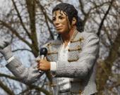 В Лондоне снесли статую Майкла Джексона