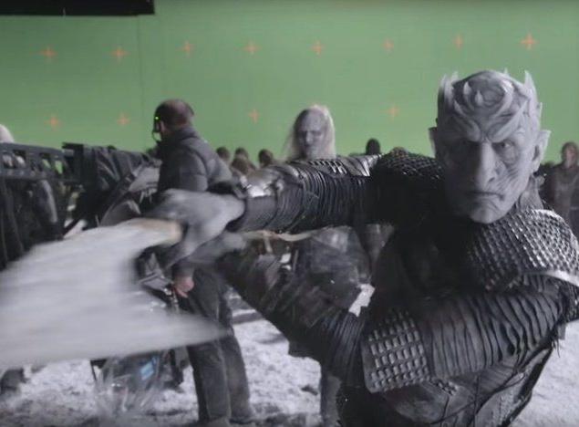 """Сцена из """"Игры престолов"""" без спецэффектов"""
