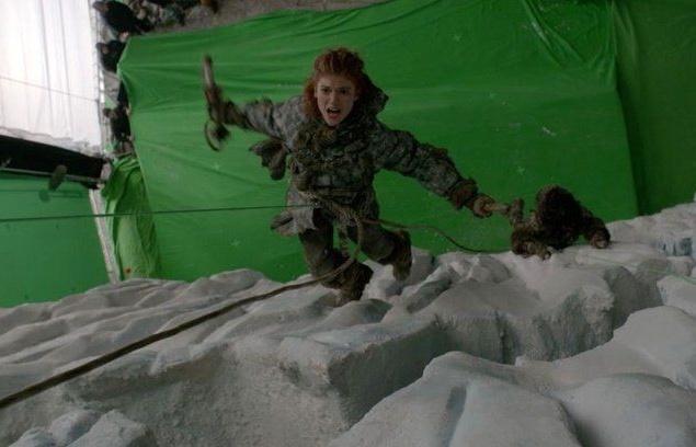 """Ледяные скалы для """"Игры престолов"""""""