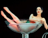 Дита фон Тиз вызвала фурор эротическим снимком