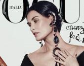 Деми Мур снялась в фотосессии для Vogue Италия