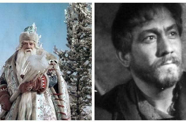 Александр Хвыля в роли Морозко