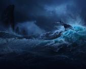 """Создатели """"Аватара 2"""" показали шторм на Пандоре"""