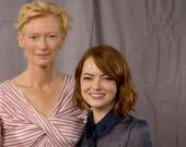Эмма Стоун снимет фильм с Тильдой Суинтон