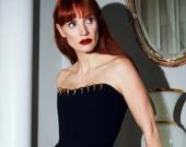 Джессика Честейн снялась в роскошных образах в новой фотосессии