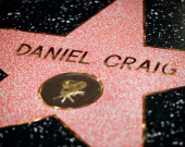 Дэниел Крэйг получил звезду на Аллее славы Голливуда