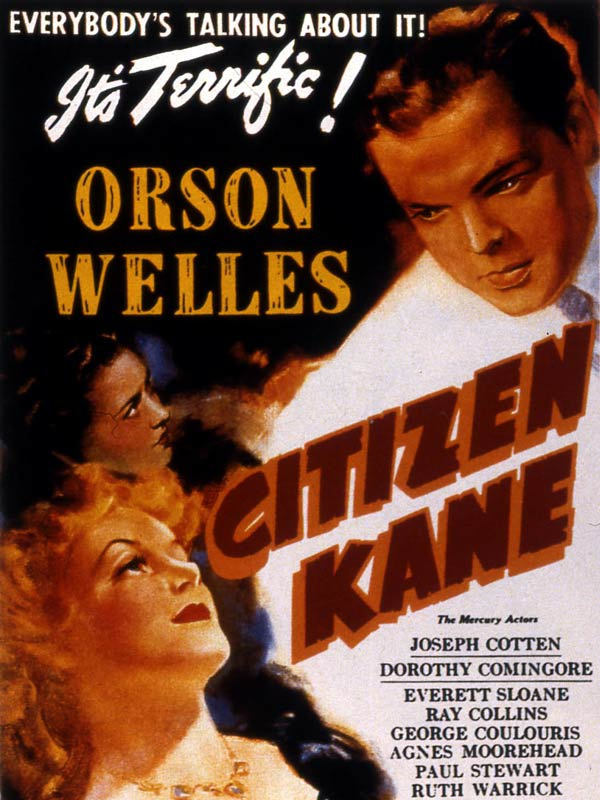 the criticism of media in the citizen kane by orson welles Jorge luis borges reviews citizen kane — and gets a response from orson welles orson welles shows fragments of the life of the man follow on social media.