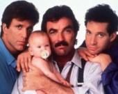"""...Трое мужчин и младенец """", весьма популярной в 80-е годы комедии..."""